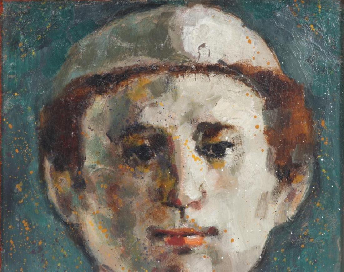 LESTER RAYMER (1907-1991) OIL ON PANEL, 1973 - 3