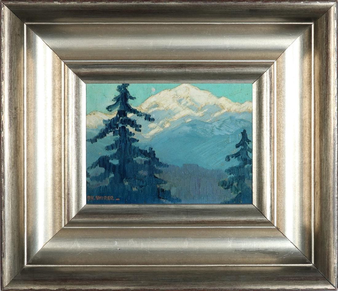 PAULINE SHIRER (1894-1975) OIL ON ARTIST'S BOARD - 2