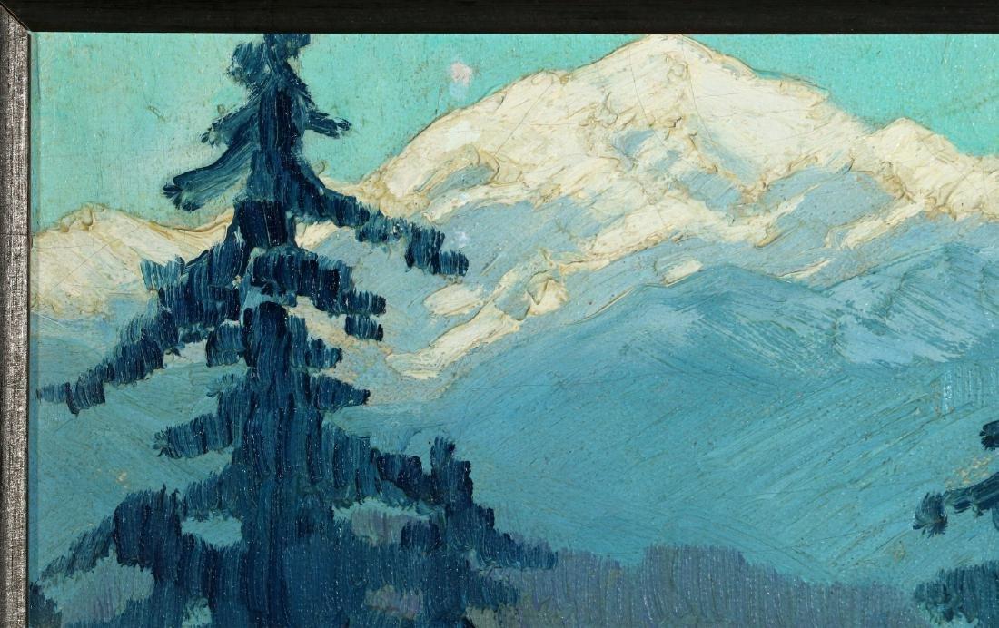 PAULINE SHIRER (1894-1975) OIL ON ARTIST'S BOARD - 3
