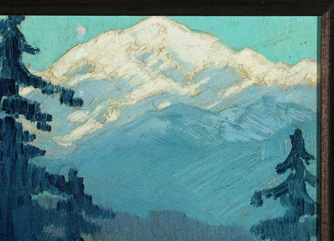 PAULINE SHIRER (1894-1975) OIL ON ARTIST'S BOARD - 4