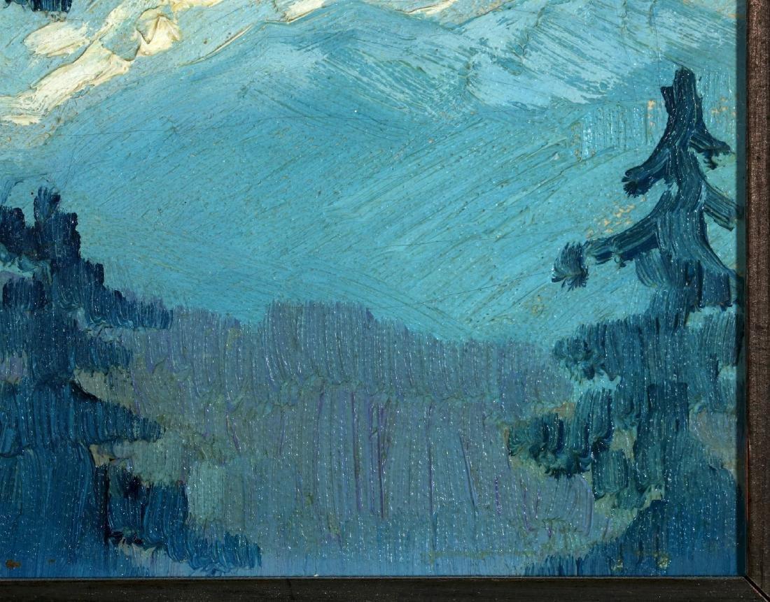 PAULINE SHIRER (1894-1975) OIL ON ARTIST'S BOARD - 5