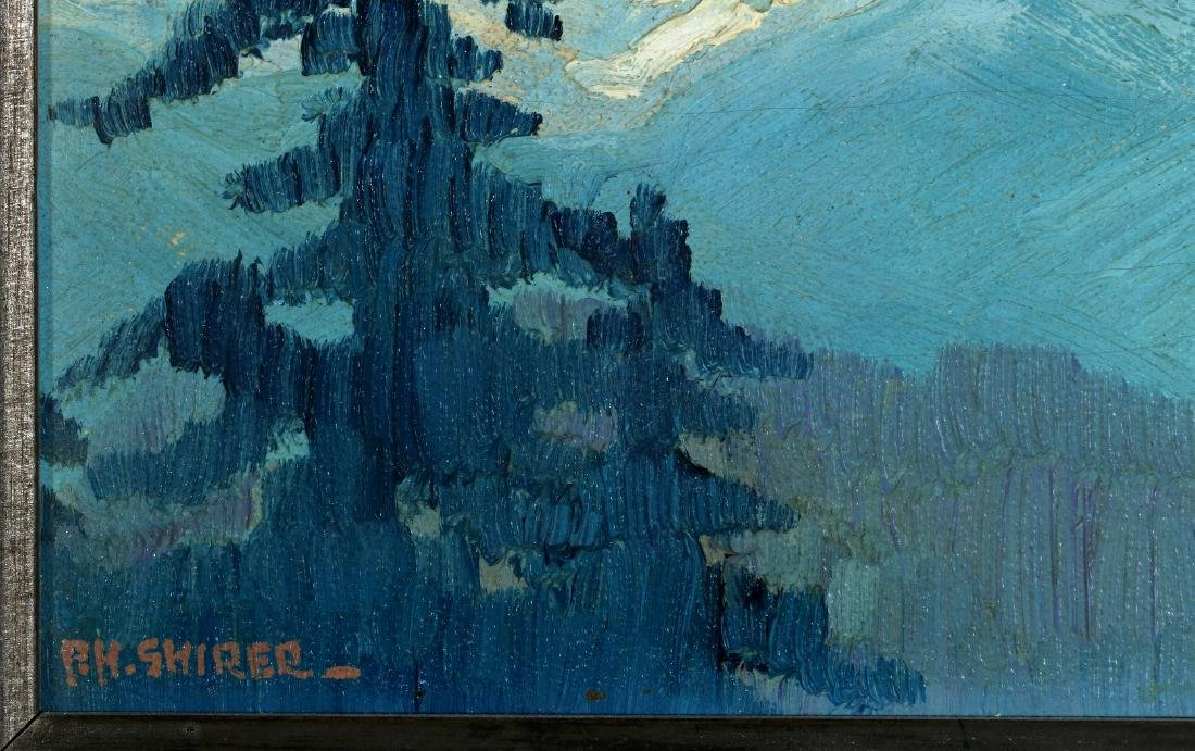 PAULINE SHIRER (1894-1975) OIL ON ARTIST'S BOARD - 6