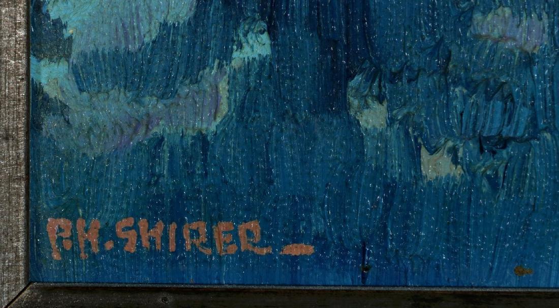 PAULINE SHIRER (1894-1975) OIL ON ARTIST'S BOARD - 7