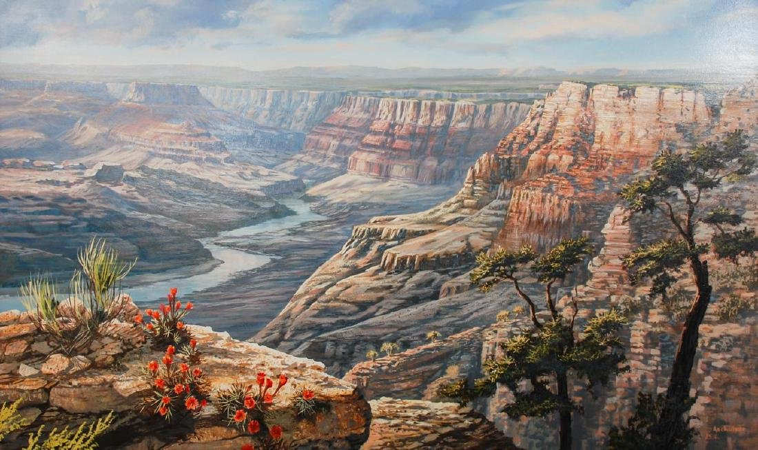 J.S.E. ARCHULETA (CALIFORNIA, 1948- ) GRAND CANYON
