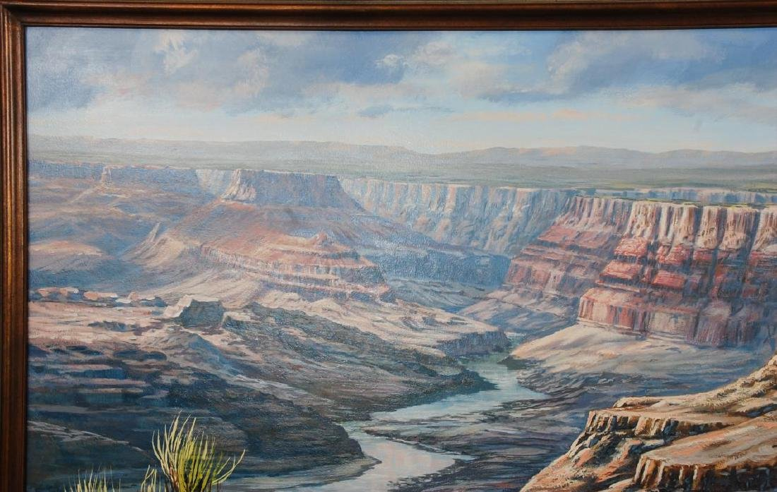J.S.E. ARCHULETA (CALIFORNIA, 1948- ) GRAND CANYON - 3