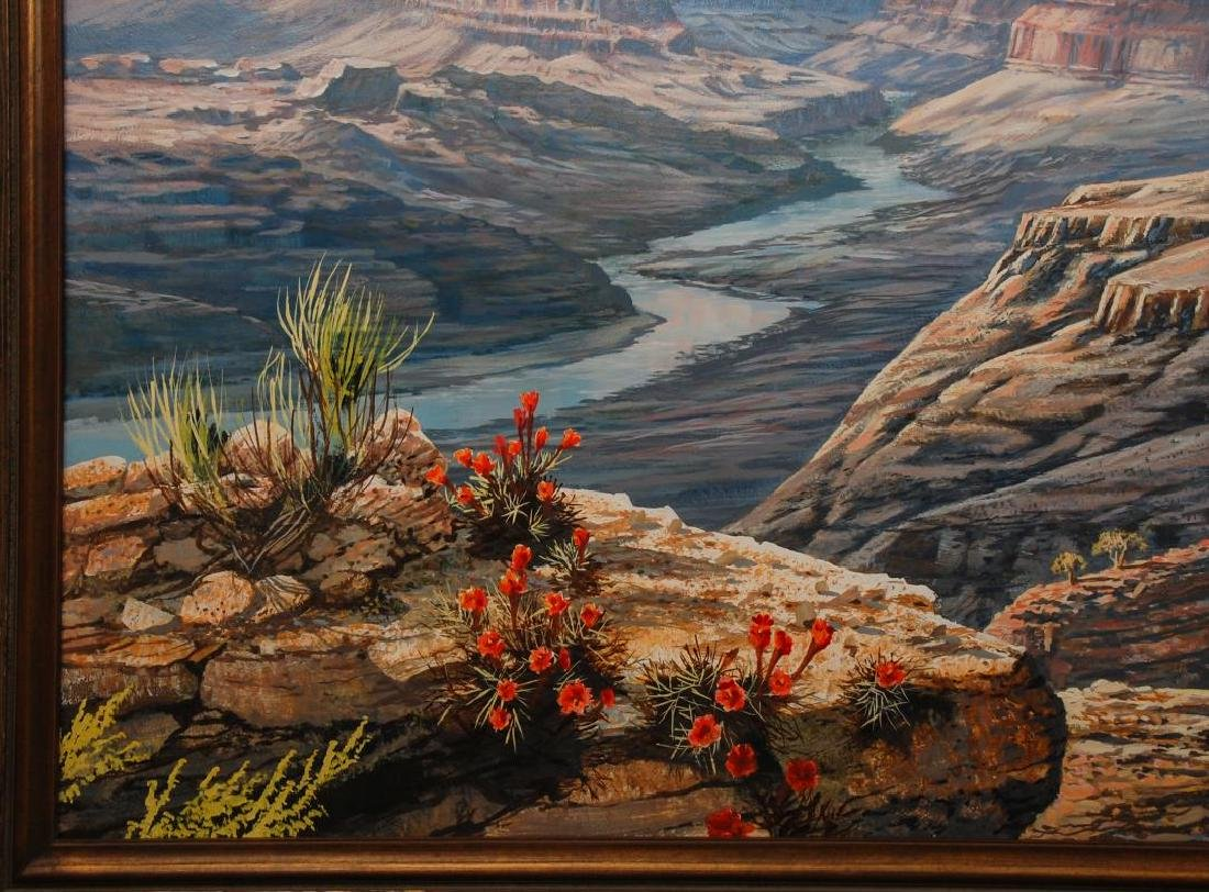 J.S.E. ARCHULETA (CALIFORNIA, 1948- ) GRAND CANYON - 6