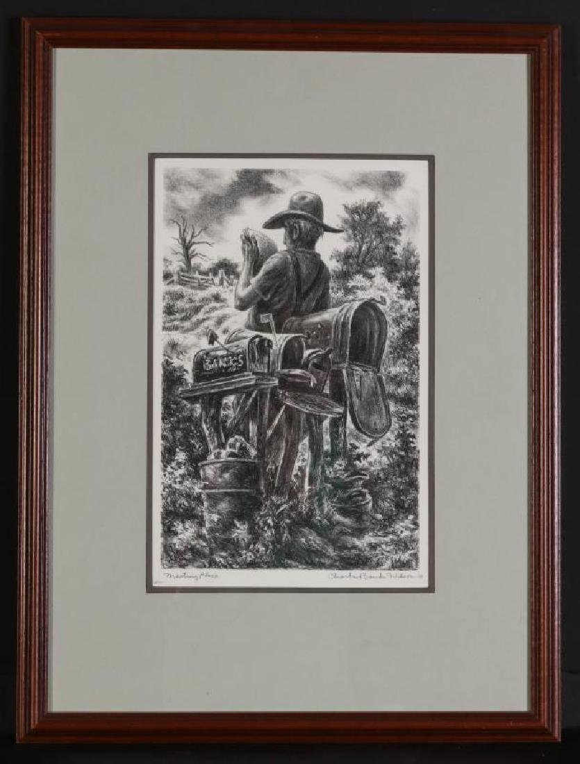 CHARLES BANKS WILSON (1918-2013) SIGNED LITHOGRAPH - 10