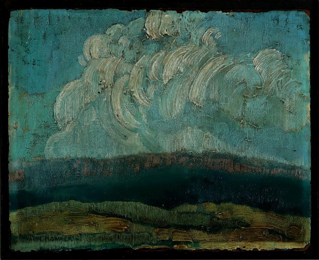 PAULINE SHIRER (1894-1975) OIL ON PANEL