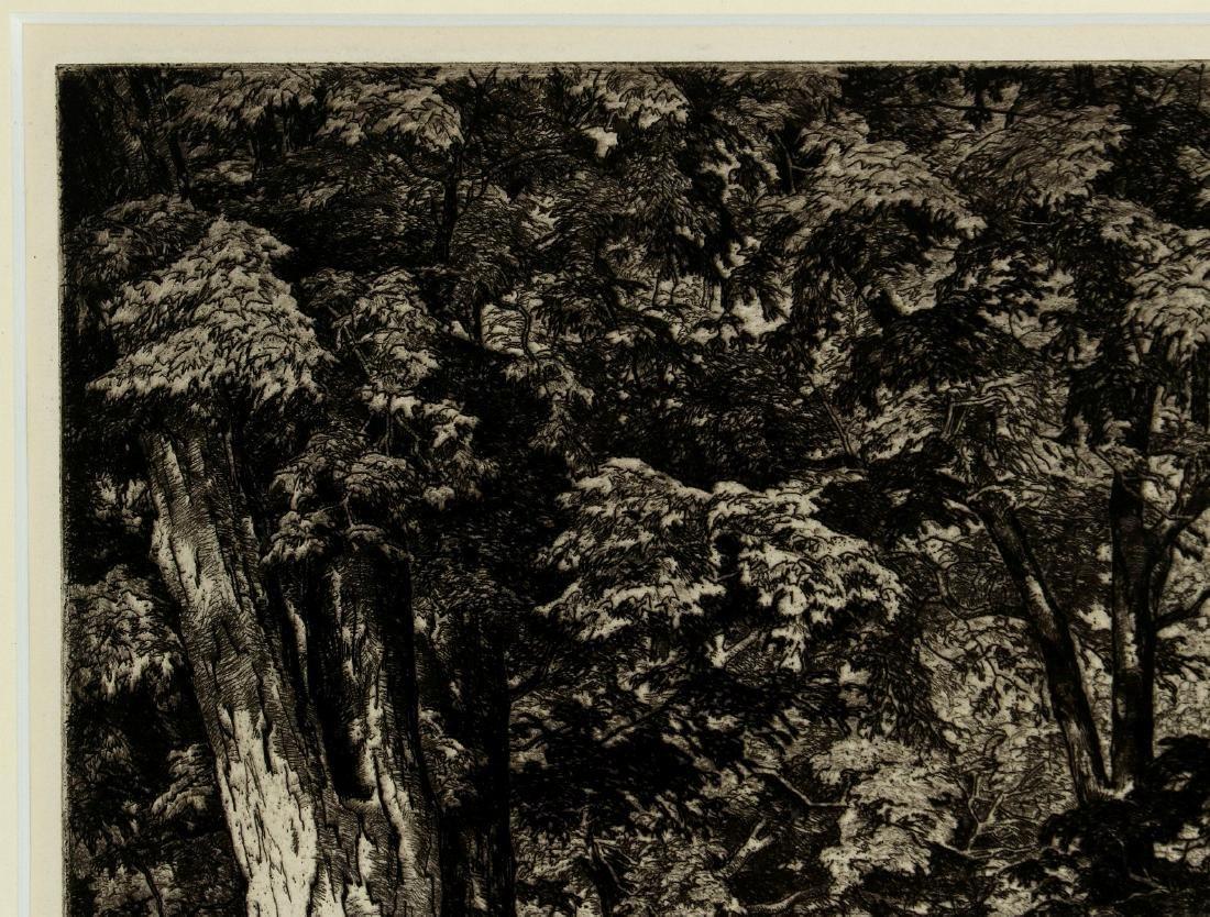 LUIGI LUCIONI (1900-1988) PENCIL SIGNED ETCHING - 3