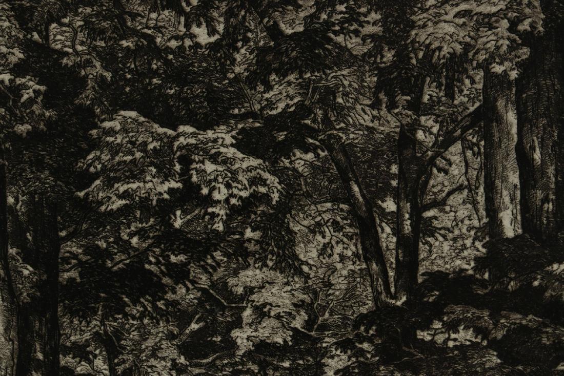 LUIGI LUCIONI (1900-1988) PENCIL SIGNED ETCHING - 8