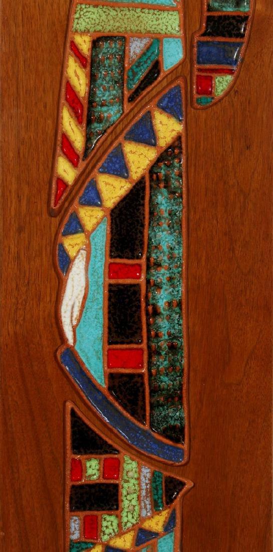 HARRIS STRONG (1920- ) MODERNIST PLAQUE CIRCA 1960 - 3