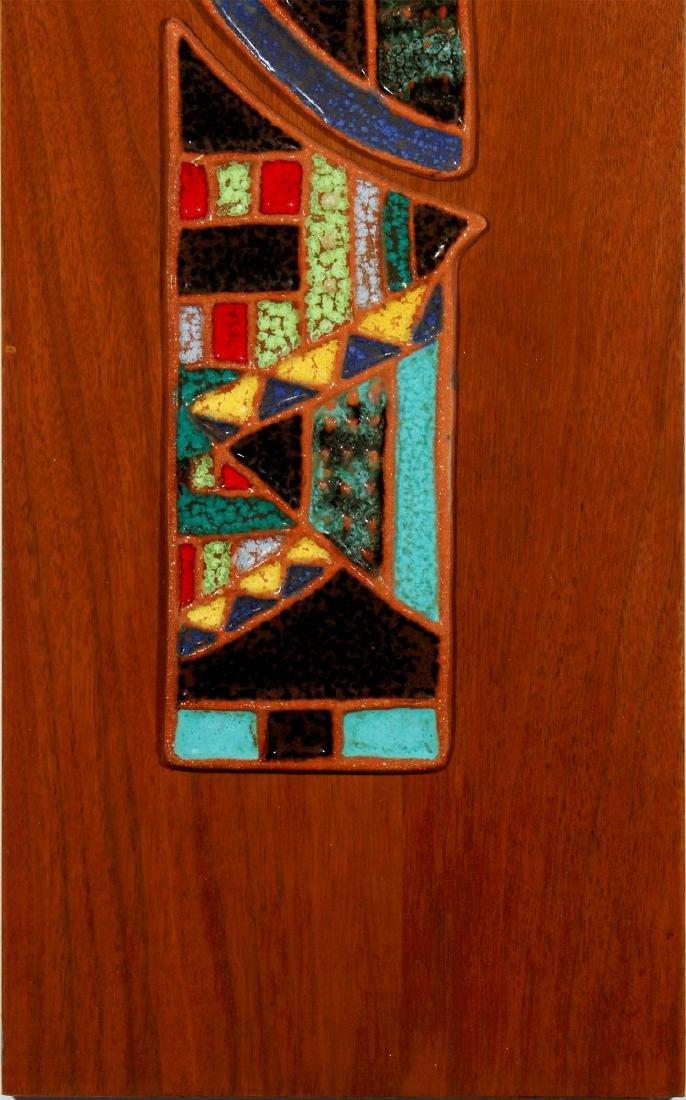 HARRIS STRONG (1920- ) MODERNIST PLAQUE CIRCA 1960 - 4