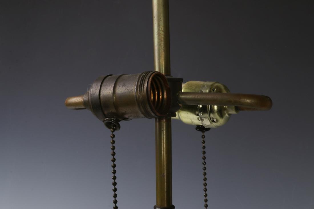 A GOOD MOUGIN NANCY FRENCH ART DECO POTTERY LAMP - 8