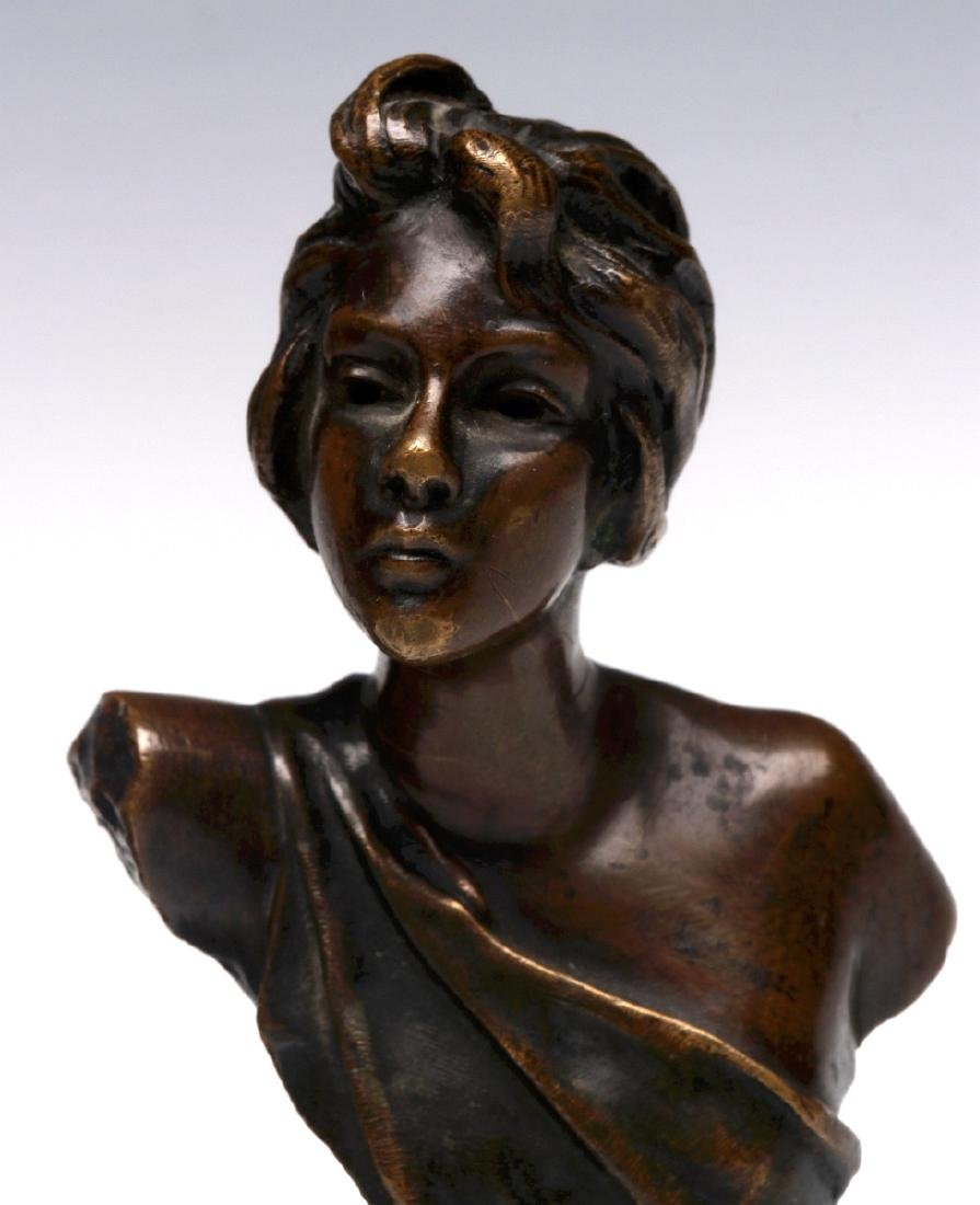 FRENCH AND GERMAN CABINET BRONZE SCULPTURES - 5