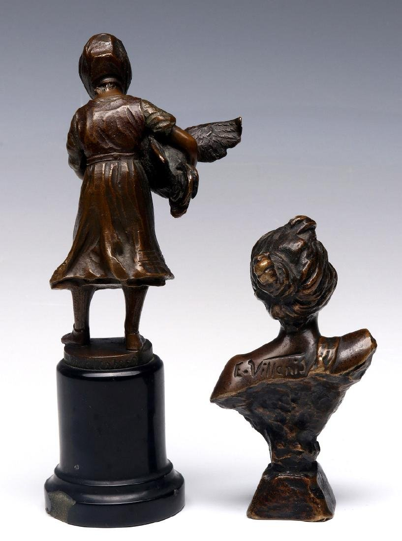 FRENCH AND GERMAN CABINET BRONZE SCULPTURES - 8