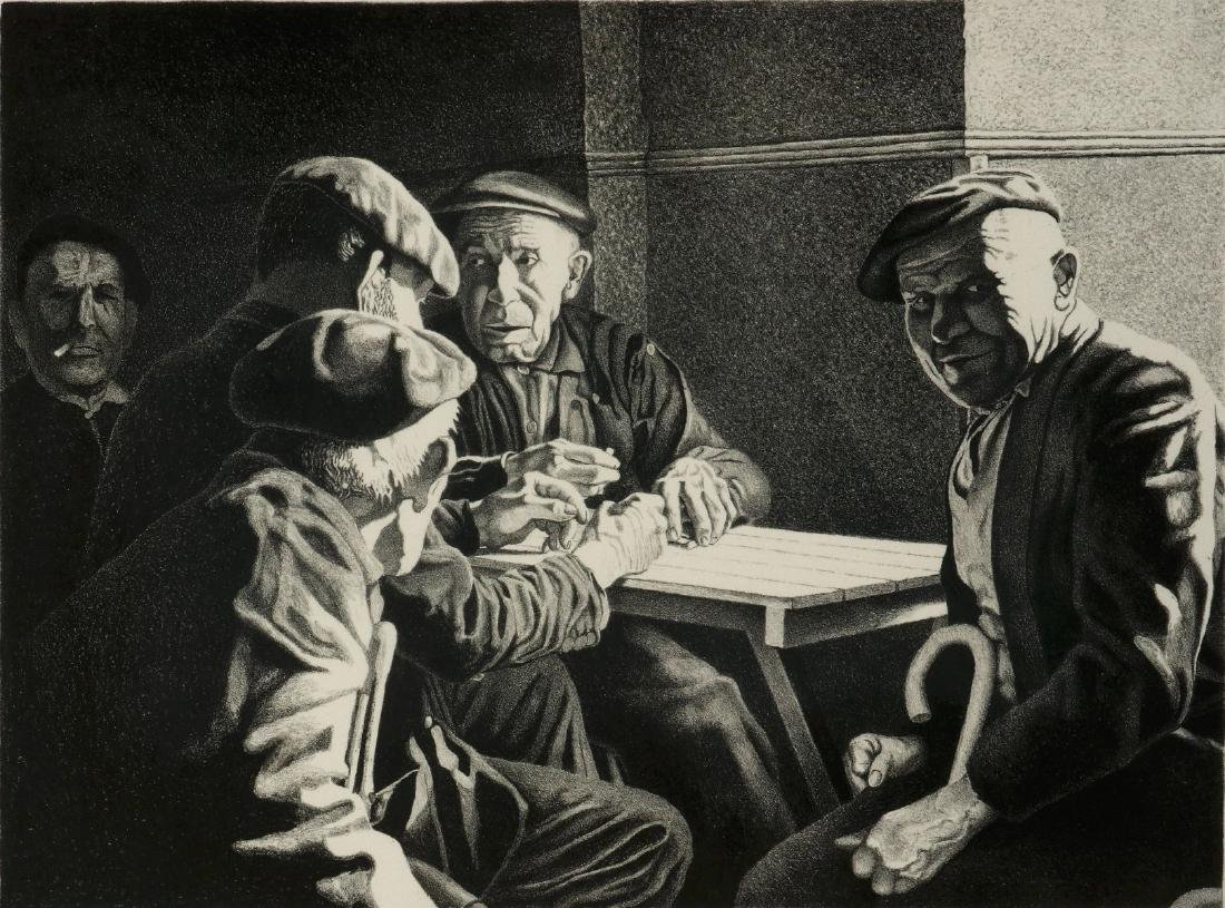 WILLIAM McKIM (1916-1995) PENCIL SIGNED LITHOGRAPH