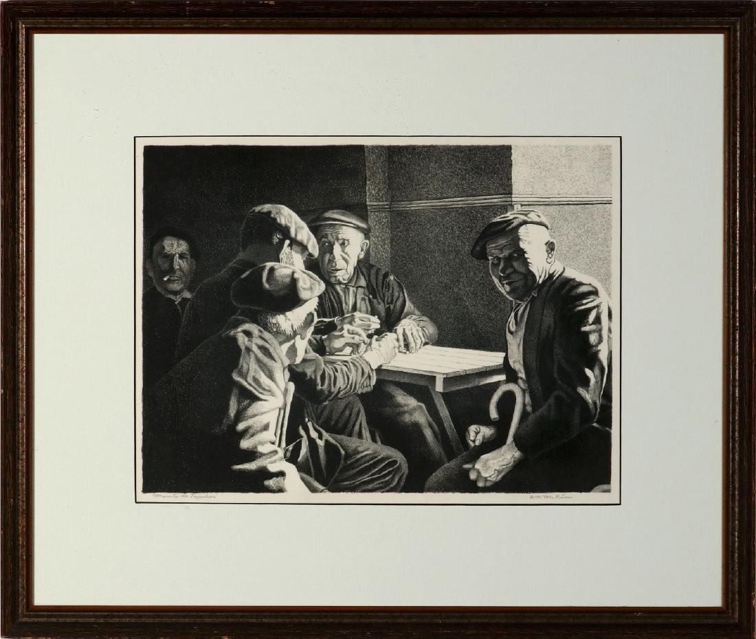 WILLIAM McKIM (1916-1995) PENCIL SIGNED LITHOGRAPH - 2