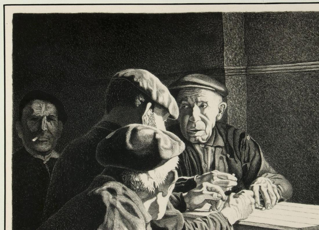 WILLIAM McKIM (1916-1995) PENCIL SIGNED LITHOGRAPH - 3