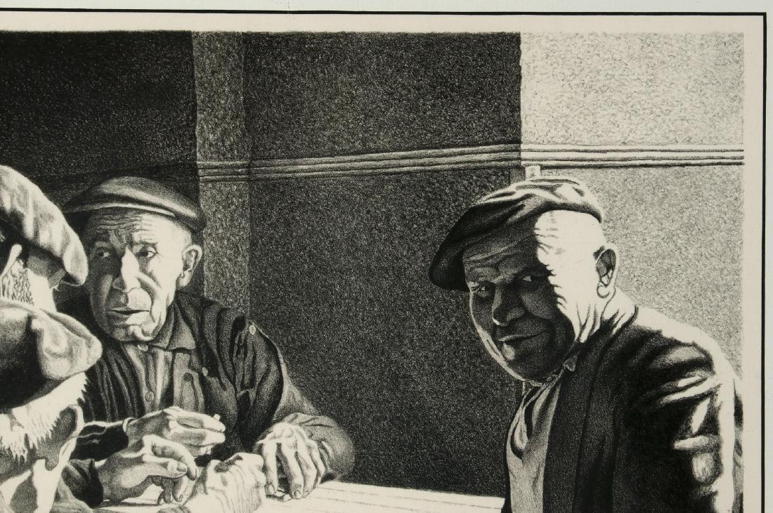 WILLIAM McKIM (1916-1995) PENCIL SIGNED LITHOGRAPH - 4
