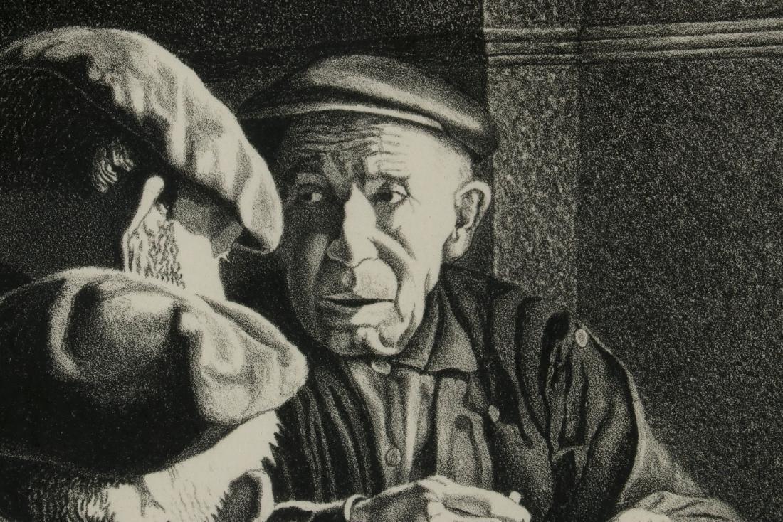 WILLIAM McKIM (1916-1995) PENCIL SIGNED LITHOGRAPH - 7
