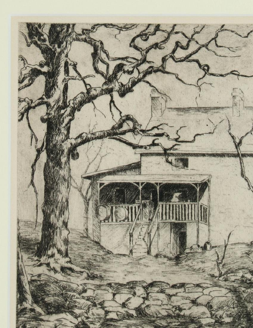 AVIS CHITWOOD (1893-1994) PENCIL SIGNED ETCHING - 3