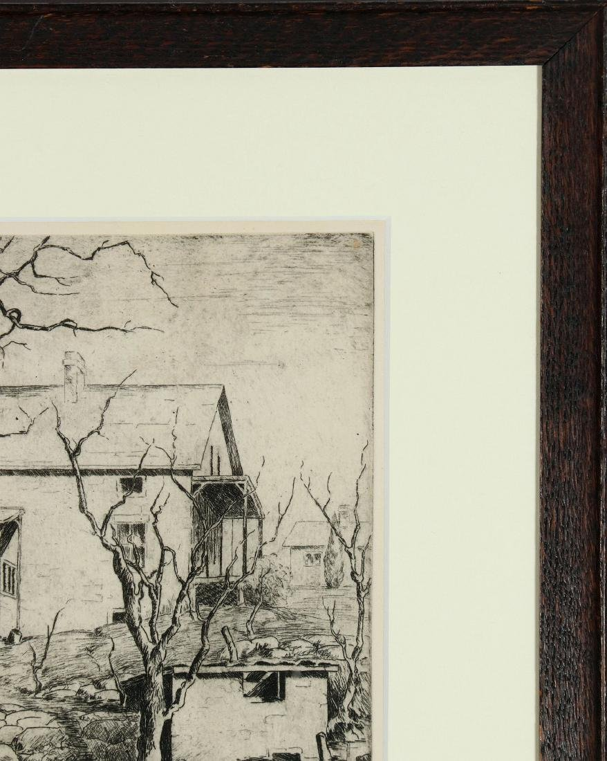AVIS CHITWOOD (1893-1994) PENCIL SIGNED ETCHING - 4