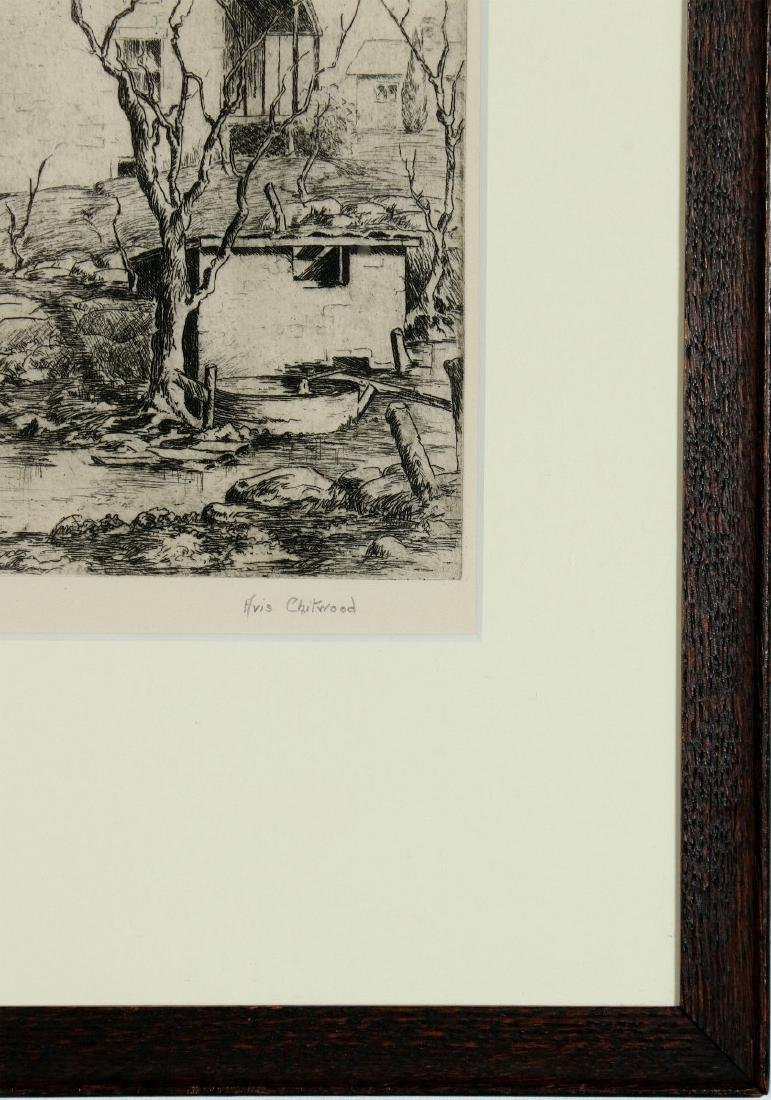 AVIS CHITWOOD (1893-1994) PENCIL SIGNED ETCHING - 5