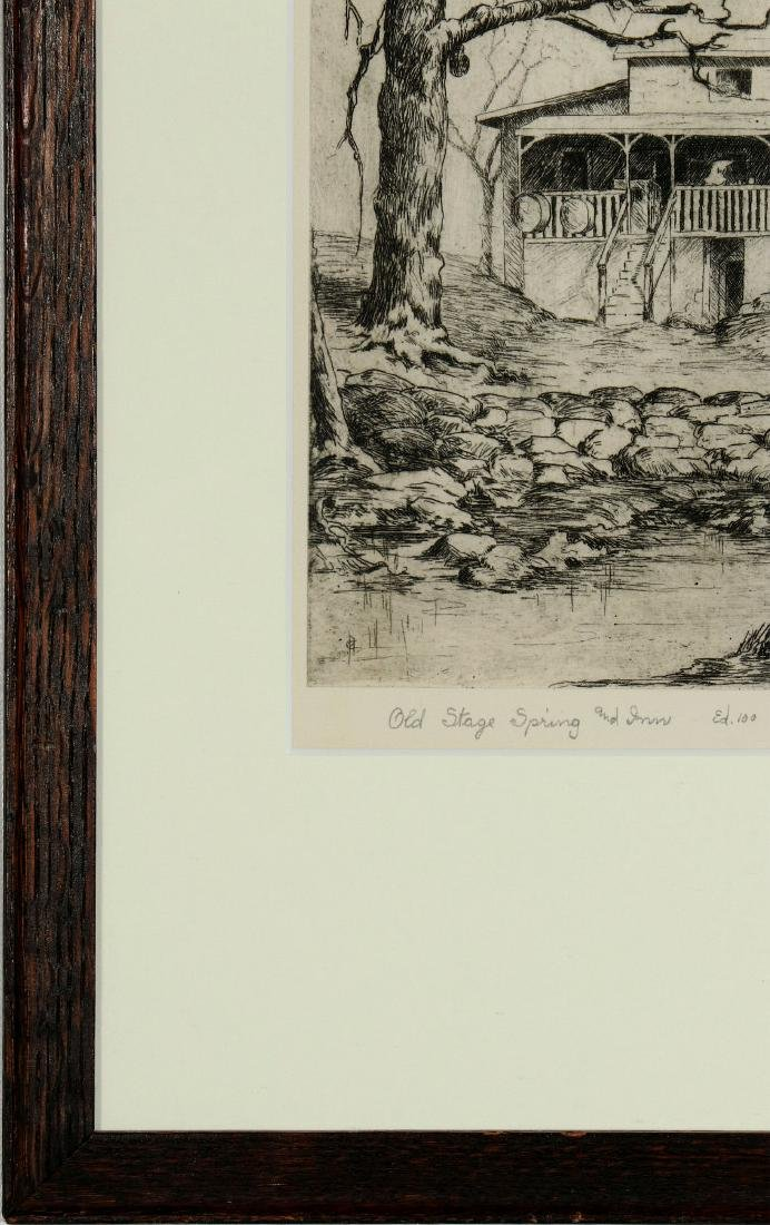 AVIS CHITWOOD (1893-1994) PENCIL SIGNED ETCHING - 6