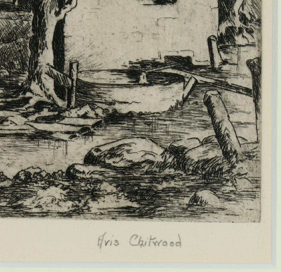 AVIS CHITWOOD (1893-1994) PENCIL SIGNED ETCHING - 8