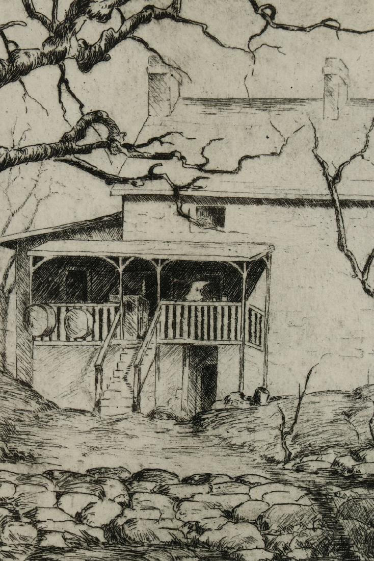 AVIS CHITWOOD (1893-1994) PENCIL SIGNED ETCHING - 9