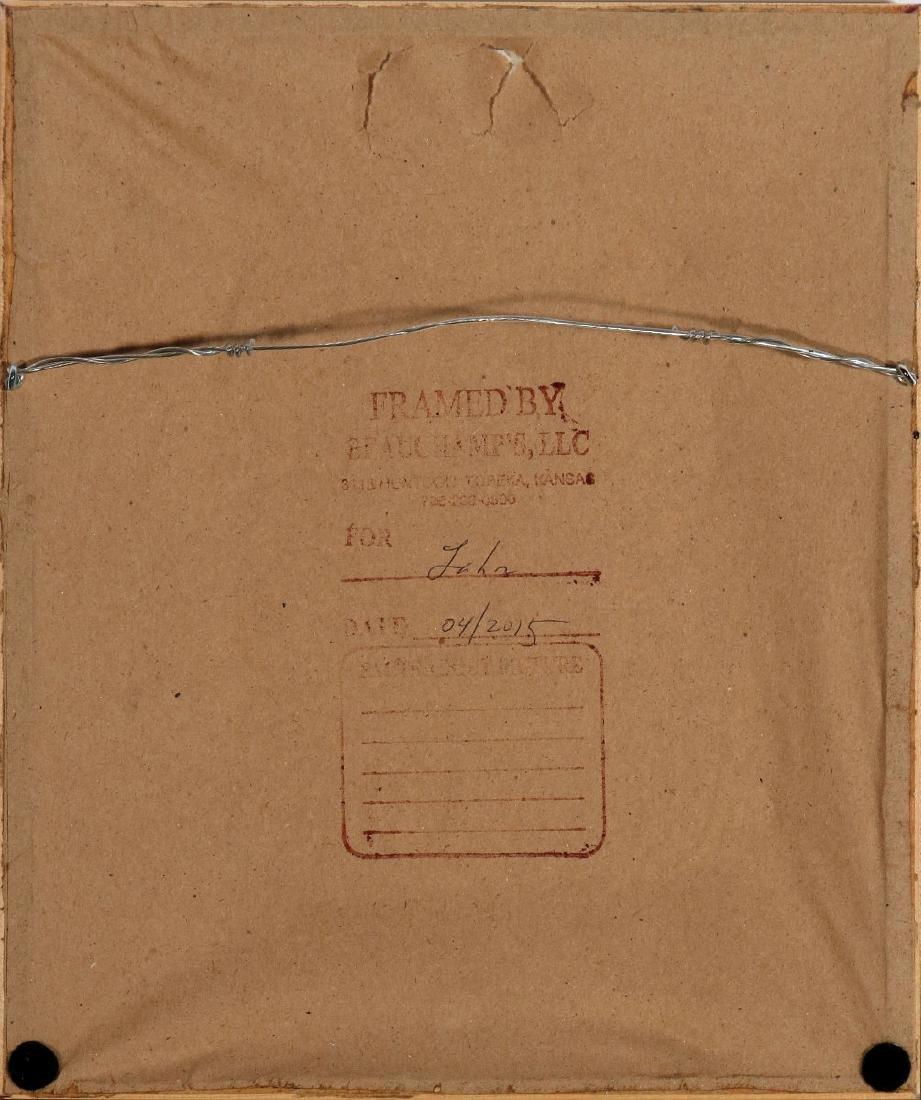 PAULINE SHIRER (1894-1975) COLOR BLOCK PRINT - 10