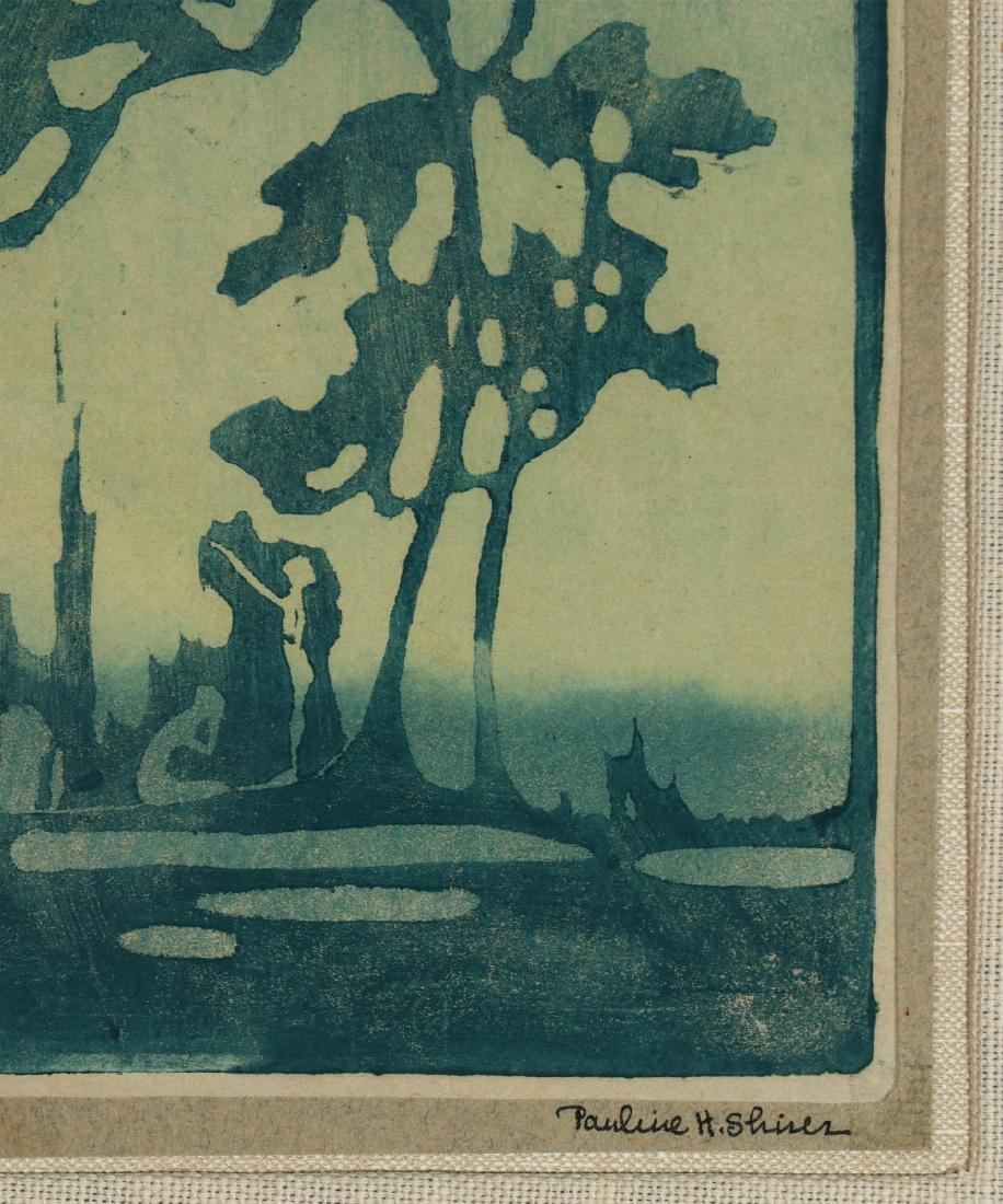 PAULINE SHIRER (1894-1975) COLOR BLOCK PRINT - 5