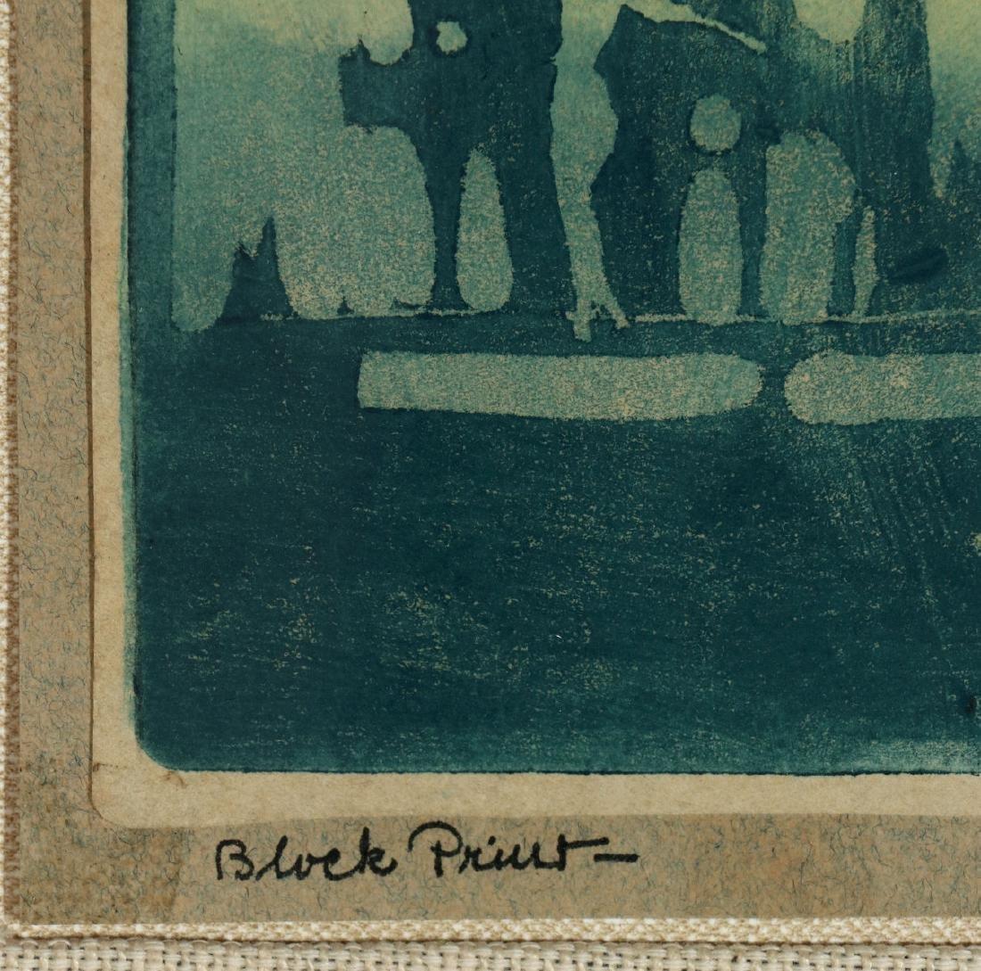 PAULINE SHIRER (1894-1975) COLOR BLOCK PRINT - 7