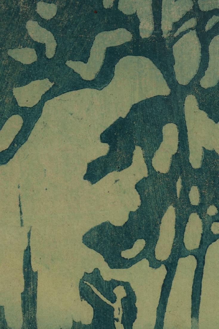 PAULINE SHIRER (1894-1975) COLOR BLOCK PRINT - 9