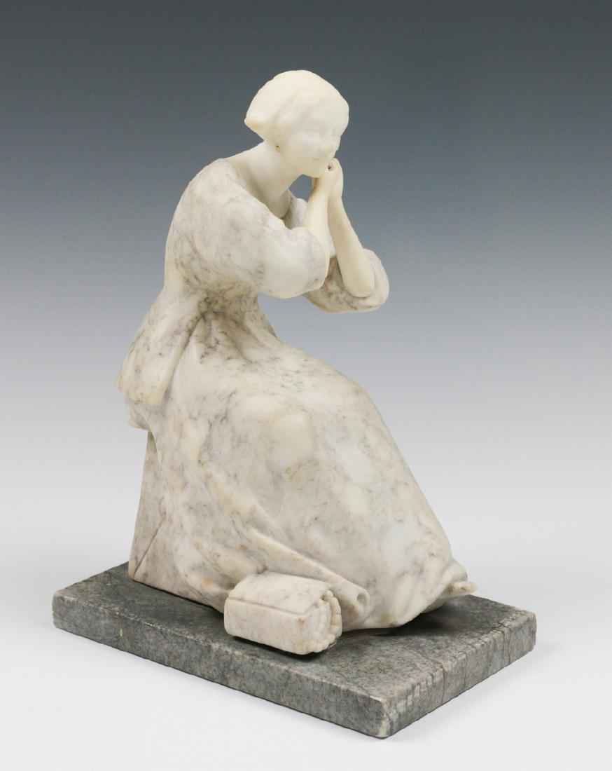 GERHARD SCHLIEPSTEIN (1886 - 1963) SCULPTED MARBLE