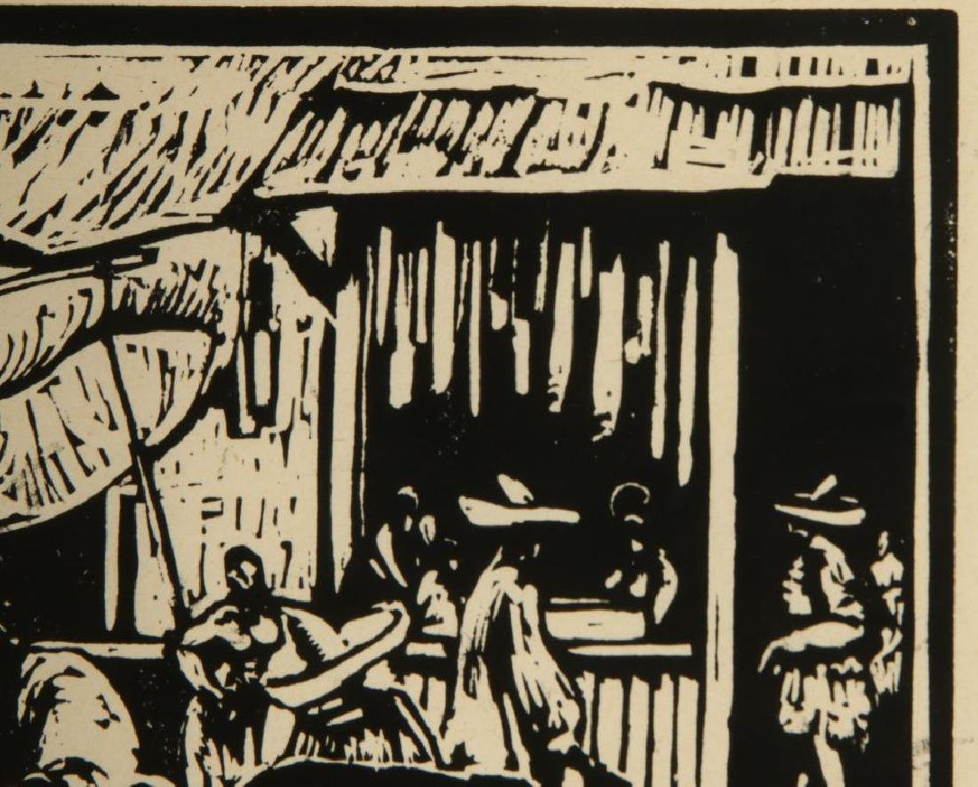 CHARLES WILIMOVSKY (1885-1974) SIGNED WOODBlOCK - 4