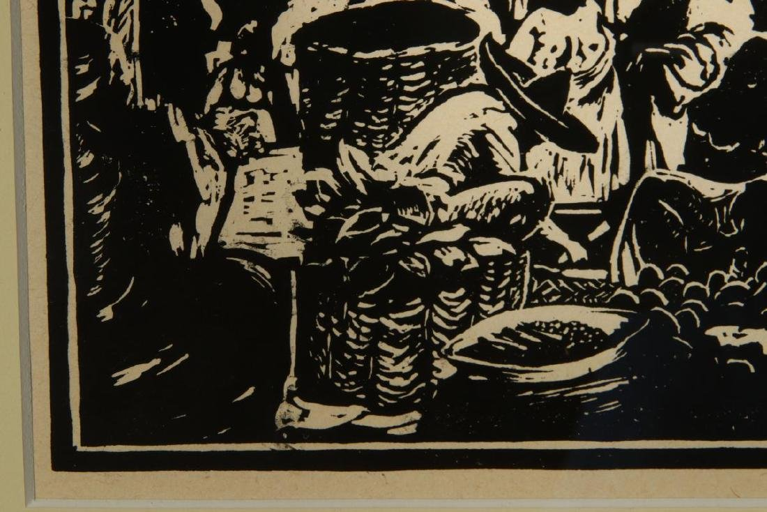 CHARLES WILIMOVSKY (1885-1974) SIGNED WOODBlOCK - 6
