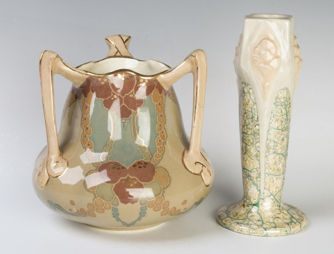 MOUGIN NANCY AND OTHER ART NOUVEAU FRENCH POTTERY - 3