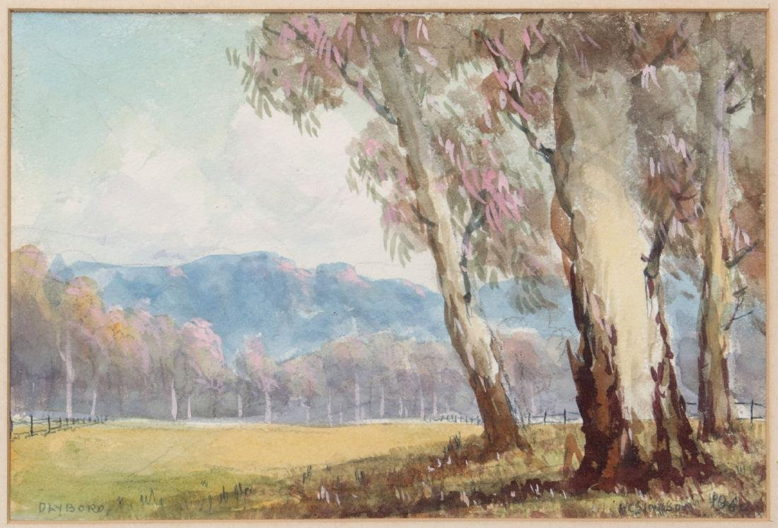 HERBERT CLARK SIMPSON (1879 - 1966) WATERCOLORS