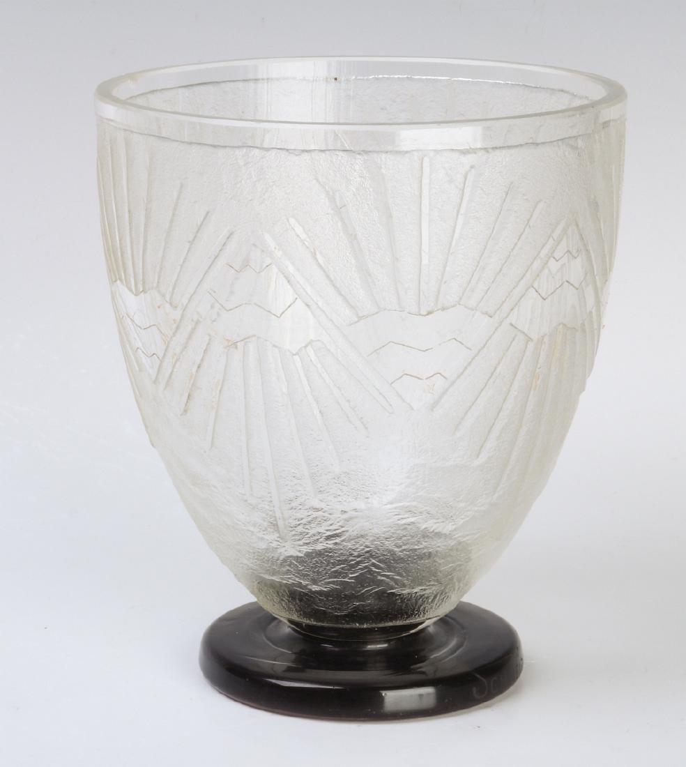 A SCHNEIDER FRENCH ART DECO VASE CIRCA 1930 - 2