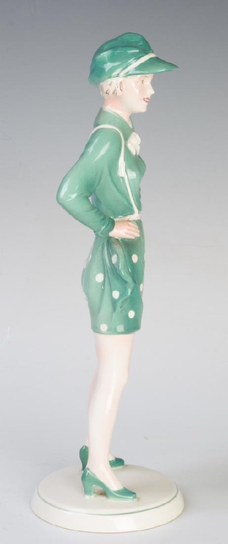 A KATZHUTTE, HERTWIG & CO ART DECO FIGURINE C 1935 - 4
