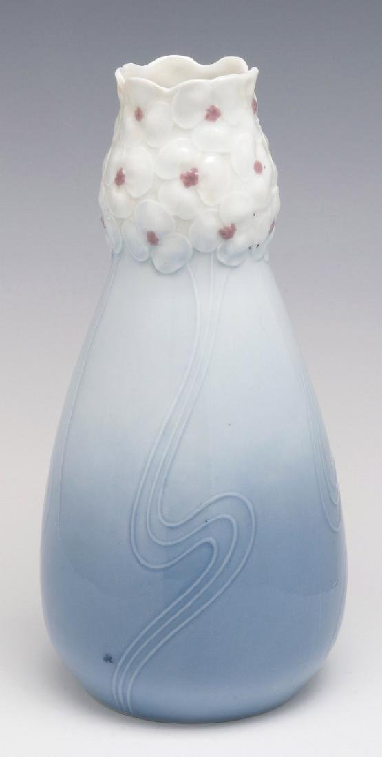 CIRCA 1910 BLOCH & CO. EICHWALD ART NOUVEAU VASE - 7