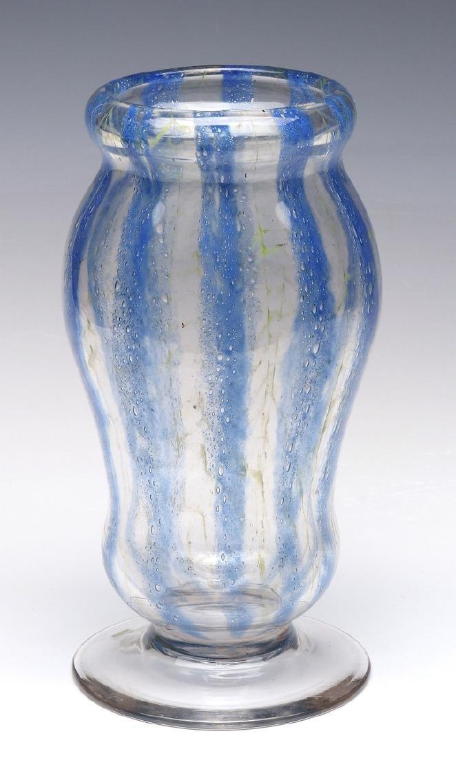 RARE NASH CHINTZ, EARLY 20TH CENTURY ART GLASS