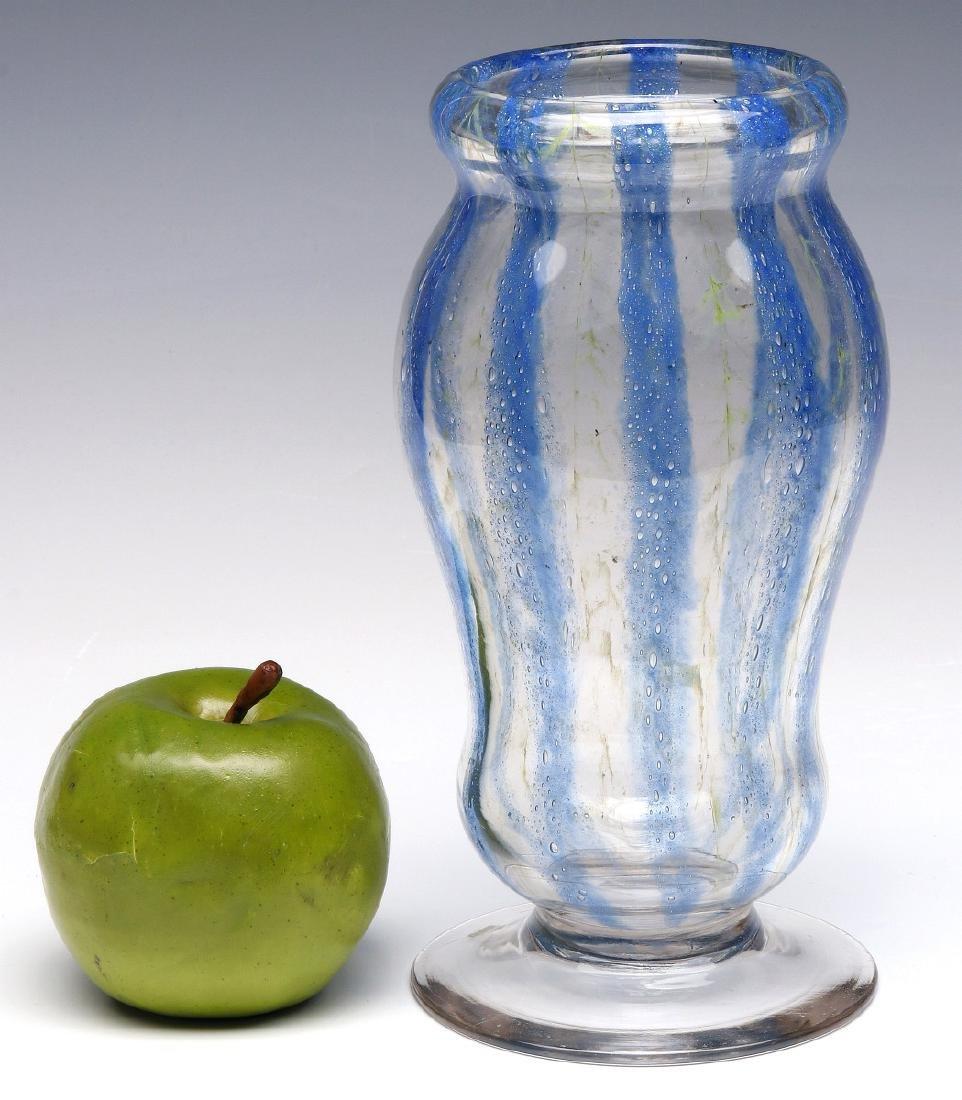 RARE NASH CHINTZ, EARLY 20TH CENTURY ART GLASS - 2
