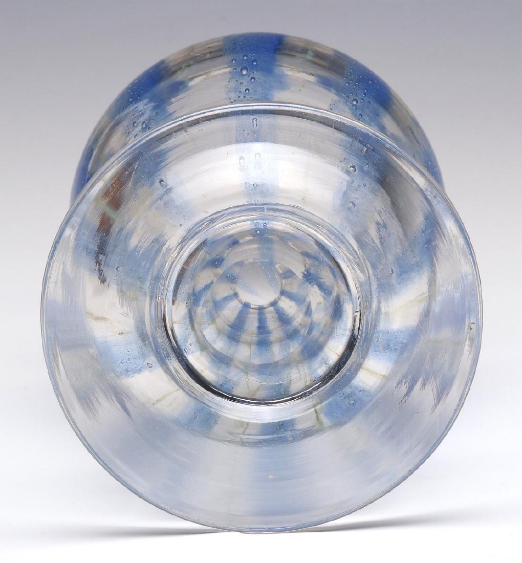 RARE NASH CHINTZ, EARLY 20TH CENTURY ART GLASS - 7