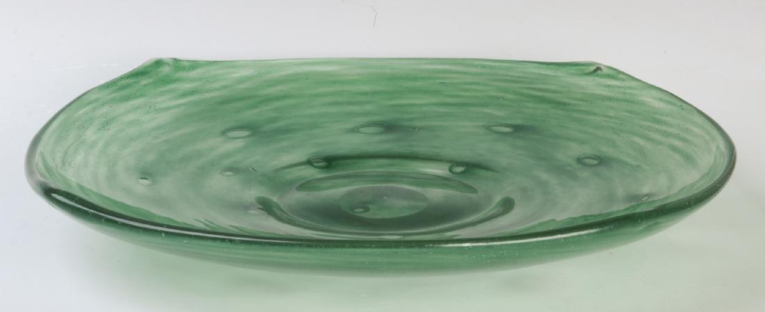 A SCHNEIDER ART GLASS CHARGER