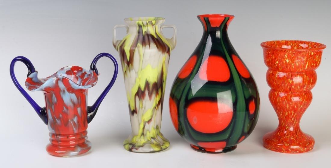 A COLLECTION OF CZECH ART GLASS