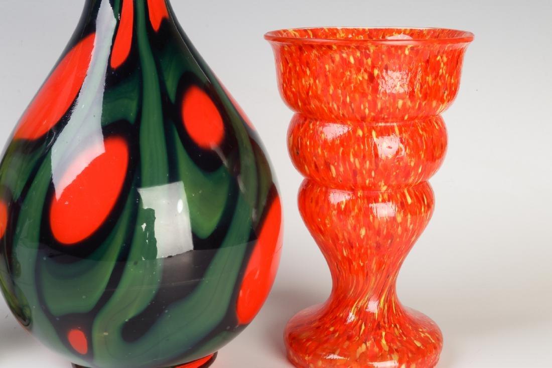 A COLLECTION OF CZECH ART GLASS - 6