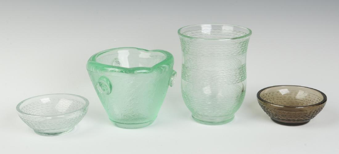 CIRCA 1930s ART GLASS BY DAUM, NANCY - 2