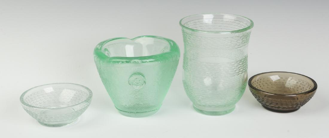 CIRCA 1930s ART GLASS BY DAUM, NANCY - 3